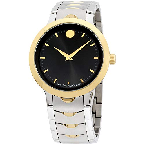 Movado Men's Swiss-Quartz Watch with Two-Tone-Stainless-Steel Strap, 23 (Model: 0607043)
