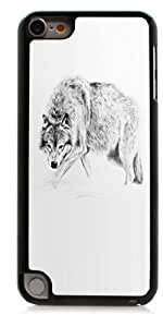HeartCase Hard Case for Apple itouch 5g 5th Generation ( Wolf Animal )