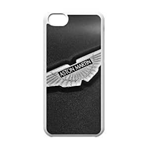 aston martin logo Funda iPhone 5c Funda Caja del teléfono celular blanco F4D7AL Caja del teléfono celular duro duro