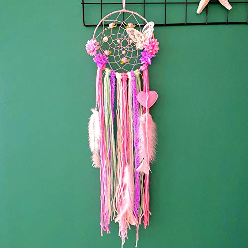 Dream Catcher Macaron Butterfly Girls Dream Catchers Girls Hanging Ornament Bedroom Baby Room Decoration