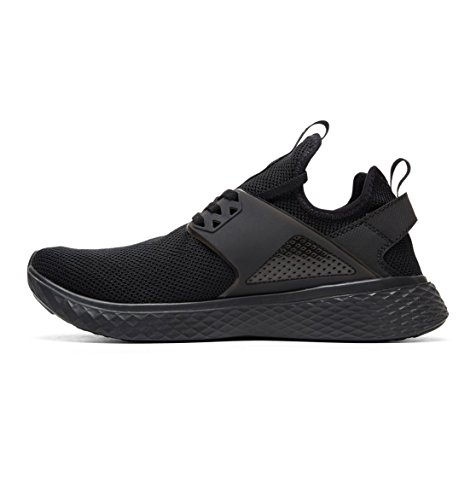 EU Nero Black 46 Shoes Nero Uomo DC Sneaker fwqR6TFnP