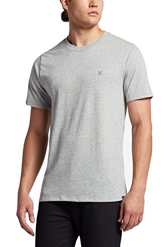 Hurley Icon Dri-Fit T-Shirt - Dark Grey Heather - M (Hurley Icon)