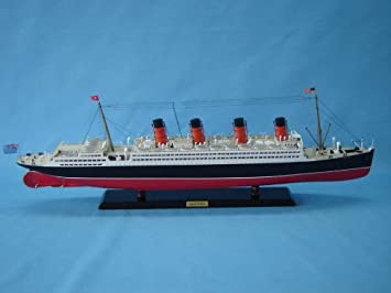 Amazoncom Aquitania Limited Titanic Related Cruise Ships - Cruise ship model kits