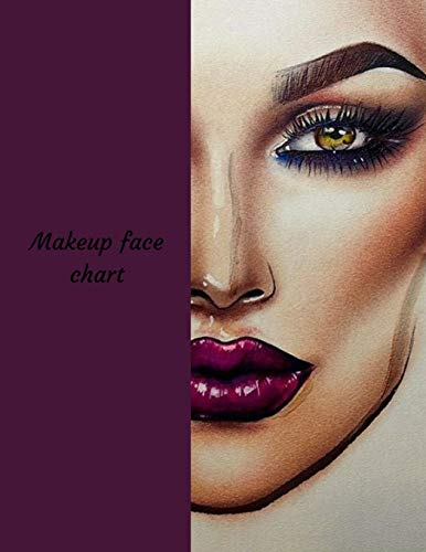 Makeup Face Chart: A Blank Makeup Portfolio Book, used for sale  Delivered anywhere in Canada