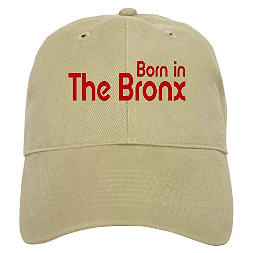 LUDEM Born in The Bronx Baseball Cap with Adjustable Closure, Unique Printed Baseball Hat