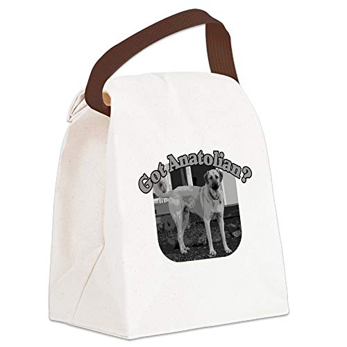 CafePress GOT ANATOLIAN? Canvas Lunch Bag with Strap Handle