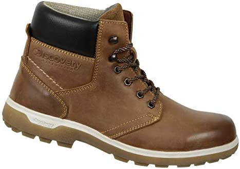 Discovery EXPEDITION Boots for Men Leather Brown Mod Sarek 2050