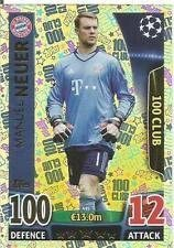 Champions League Match Attax Topps 15//16 Manuel Neuer 100 Hundred Club 2015//2016 Trading Card
