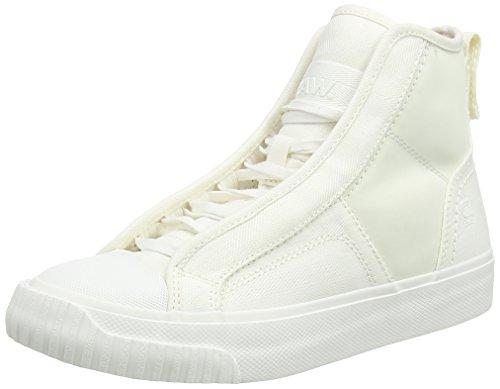 Hautes Sneakers Femme Scuba STAR G Weiß RAW xzqCwpOpB