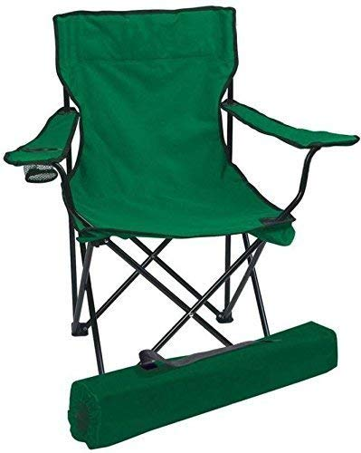 ADEPT Folding Camping Big Chair Portable Fishing Beach Outdoor Collapsible Chairs (Multi-Color) by BLAPOXE