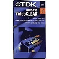 TDK VHS Dry Head Cleaner (Discontinued by Manufacturer)