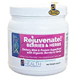Rejuvenate! Berries and Herbs (506 gm) Berry Flavored High Protein, High RNA Superfood Review
