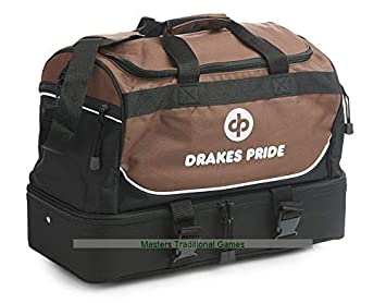 e8f827e6423b Drakes Pride Pro Maxi Bowls Bag - Bronze and Black  Amazon.co.uk ...