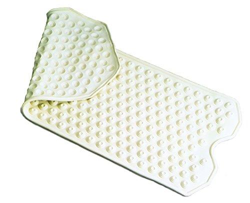 Essential Medical Supply Safety Bath Mat In Cream by Essential Medical Supply