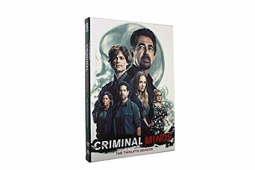 Price comparison product image 2017 NEW Criminal Minds Season 12 (DVD -5 Disc set)