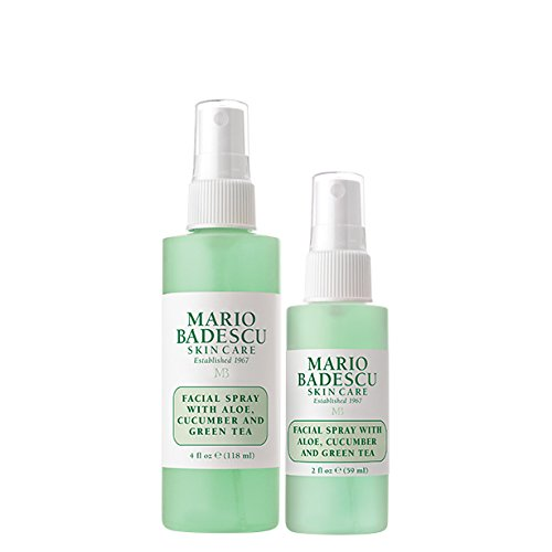 Spray with Aloe, Cucumber & Green Tea Duo, 2 oz. & 4 oz. (Face Mist)