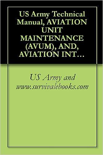 Kostenlose Computer-E-Book-Downloads US Army Technical Manual, AVIATION UNIT MAINTENANCE (AVUM), AND, AVIATION INTERMEDIATE MAINTENANCE (AVIM) MANUAL, FOR GENERAL AIRCRAFT MAINTENANCE, (NONDESTRUCTIVE ... VOLUME 7, TM 1-1500-204-23-7, 1992 PDF DJVU