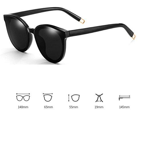 80db3b44bd Gafas De Sol Polarizadas Para Mujer Lente De Señoras Wayfarer Gafas De  Espejo Clásicas Bloqueo UV