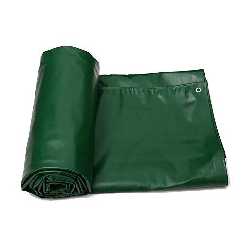 Tarps Waterproof Lightweight Tent Tarpaulin Floor Footprint Rainproof Sun Shelter Sunshade Cloth Ground Sheet for Outdoor Camping Green (Size : (Lightweight Oilskin)