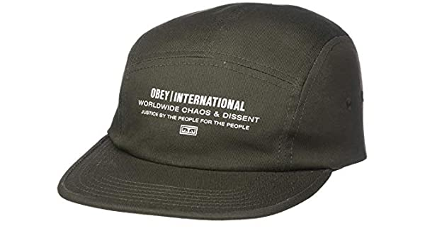 OBEY, Integrity 5 panel hat, Army - TU: Amazon.es: Ropa y accesorios