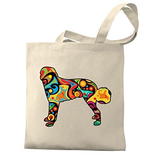Shepherd Eddany Canvas Dog Anatolian Psychedelic Bag Tote Eddany Psychedelic IYTwqTgd