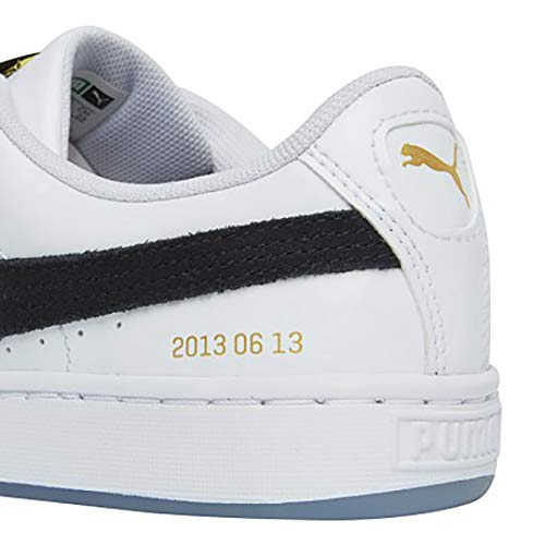 sports shoes 7986d bbbb5 PUMA X BTS Basket Patent Shoes Bangtanboys Collaboration 36827801 White by  Puma