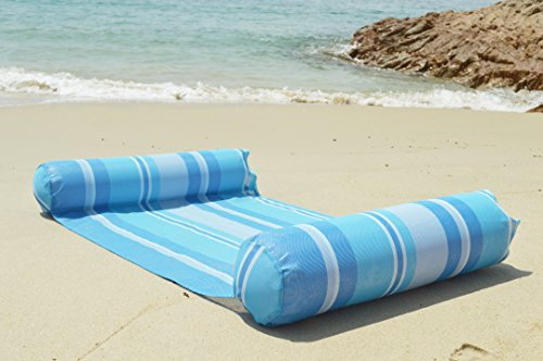 Hammock float portable swimming pool lounge inflatable - How to make swimming pool water blue ...