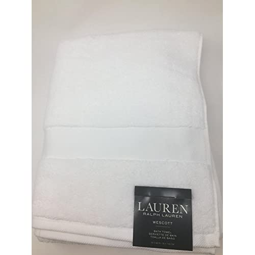 Nice Lauren Ralph Lauren Wescott Bath Towel White 30 x 56 supplier