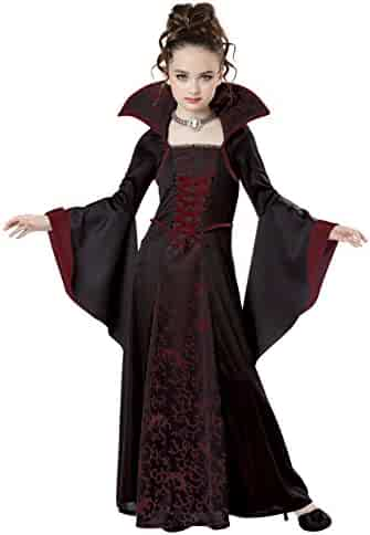 California Costumes Royal Vampire Costume, Small, Black/Red