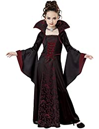royal vampire costume medium blackred california costumes