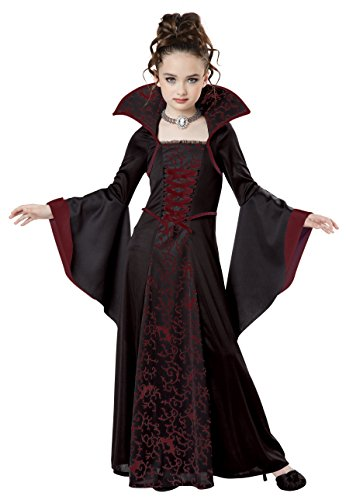 [California Costumes Royal Vampire Costume, Medium, Black/Red] (Horror Costumes For Kids)