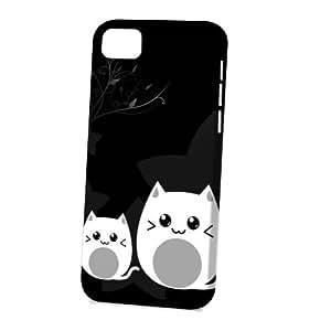 Case Fun Apple iPhone 5C Case - Vogue Version - 3D Full Wrap - Black Cat