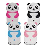 Tsmine Samsung Galaxy S7 Case - Cute 3D Panda Soft Silicone Back Washable Cover Case Protective Skin for Samsung Galaxy S7 , Rose Pink