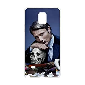 Hannibal Samsung Galaxy Note 4 Cell Phone Case White WON6189218040948