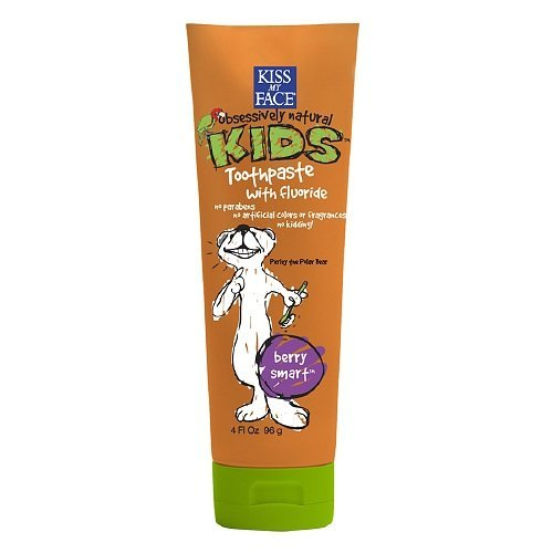 [Kiss My Face Kids Toothpaste with Fluoride, Berry Smart 4 oz] (Firefly Kids Costumes)
