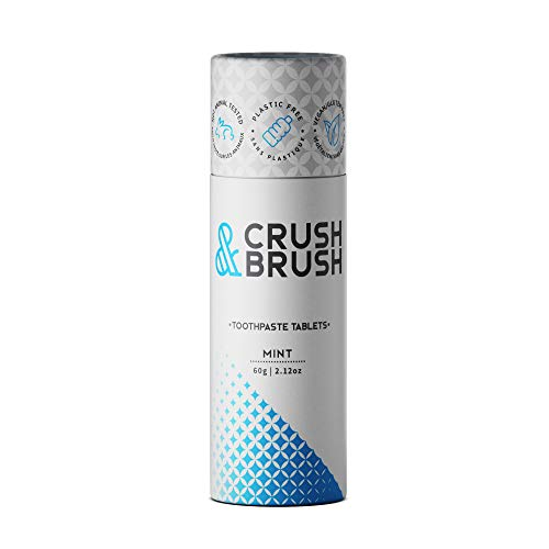 Toothpaste Tablets - CRUSH AND BRUSH Toothpaste Tablets - MINT - 2.12 oz