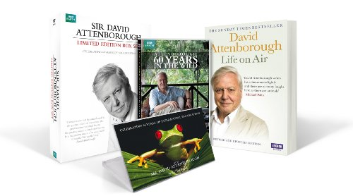 (Attenborough: 60 Years in the Wild - Limited Edition Gift Set [Amazon.co.uk Exclusive DVD])