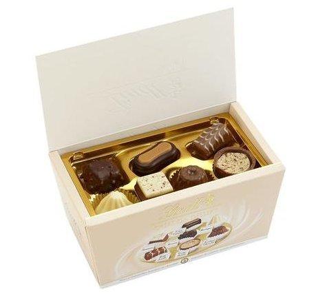 Lindt Creations Dessert Ballotin Box Assorted Truffles 7.05 Oz
