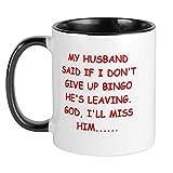 CafePress Bingo Player Gifts Mug Unique Coffee Mug, Coffee Cup