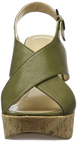 Olive Femme Sandales Copenhagen Gardenia Vert Velvet Bout Clarino Ouvert XnRwwqf8x