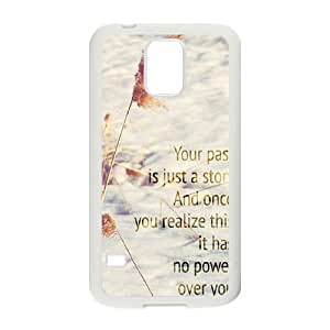 Quotes Customized Cover Case for SamSung Galaxy S5 I9600,custom phone case ygtg528341