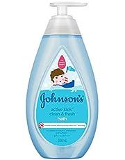 Johnson's Baby Active Kids Clean and Fresh Bath, 500ml