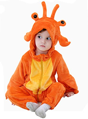 Tonwhar Baby Animal Cat Onesie Romper Halloween Costume (70 Ages 3-6 Months, -