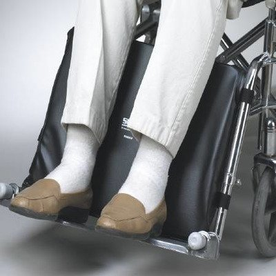 SkiL-Care Wheelchair Leg Rest Support - Pad for Elevating Footrest - Black 18 x 13 x 1-1/2 inch