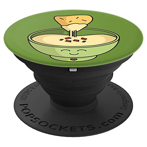 - Happy Cute Queso Cheese Dip - PopSockets Grip and Stand for Phones and Tablets