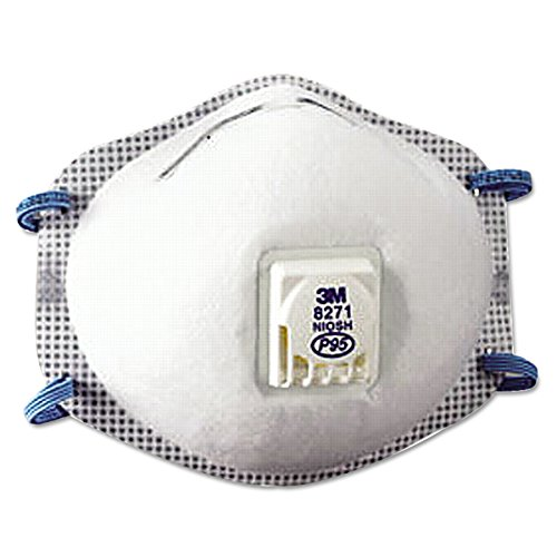 3M Particulate Respirator 8271, P95 (Pack of 10)