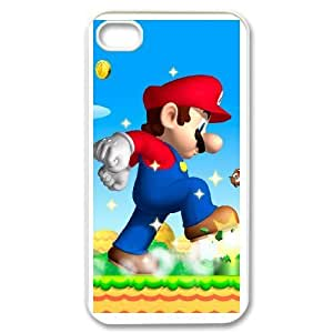 iphone4 4s White Super Mario Bros phone cases&Holiday Gift