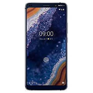 Nokia 9 PureView – Android 9.0 Pie – 128 GB – Single Sim Unlocked Smartphone (at&T/T-Mobile/Metropcs/Cricket/H2O) – 5.99″ QHD+ Screen – Qi Wireless Charging – Midnight Blue – U.S. Warranty