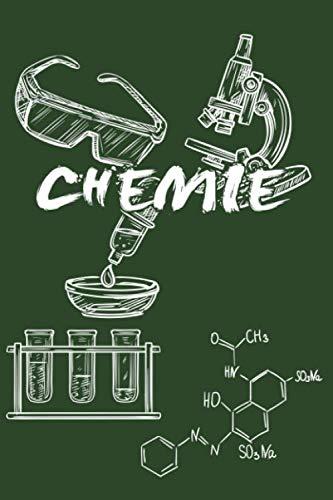 CHEMIE: Notizbuch für Chemiker | Journal Tagebuch Skizzenbuch Schreibheft | 120 karierte Seiten | Format 6x9 DIN A5 | Soft cover matt | (German Edition) (Chemie-brille)