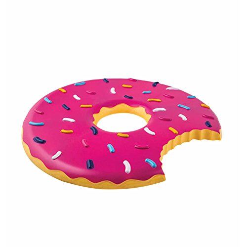 Flying Food Frisbees - Set of Two (Doughnut and (Big Mouth Pizza)